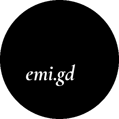 Emi's blog logo
